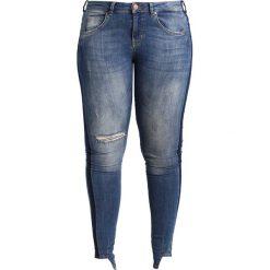 Boyfriendy damskie: Zizzi AMY Jeans Skinny Fit light blue denim