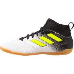 Adidas Performance ACE TANGO 17.3 IN Halówki footwear white/solar yellow/core black. Białe buty sportowe męskie adidas Performance, z gumy. W wyprzedaży za 199,20 zł.