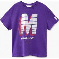 Odzież dziecięca: Mango Kids – T-shirt dziecięcy Race 104-164 cm
