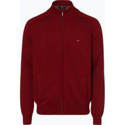 Fynch Hatton - Kardigan męski, czerwony. Czerwone swetry rozpinane męskie Fynch-Hatton, m, z haftami, z bawełny. Za 349,95 zł.