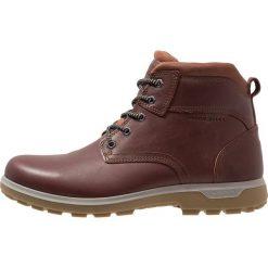 Ecco WHISTLER Buty trekkingowe brown. Brązowe buty trekkingowe męskie ecco, z materiału, outdoorowe. Za 759,00 zł.