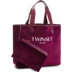Torebki klasyczne damskie: Torebka TWINSET - Shopping AA8PF2  Bordeaux 00020
