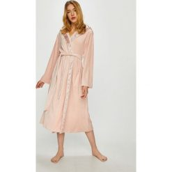 Dkny - Szlafrok. Szare szlafroki kimona damskie DKNY, m, z dzianiny. W wyprzedaży za 399,90 zł.