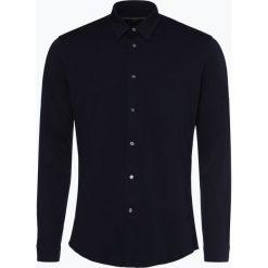 Drykorn - Koszula męska – Ruben, niebieski. Niebieskie koszule męskie marki DRYKORN, m, z dekoltem karo. Za 449,95 zł.