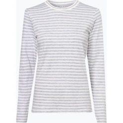 Marie Lund - Damska koszulka z długim rękawem, szary. Szare t-shirty damskie Marie Lund, xl, w paski, z bawełny. Za 89,95 zł.