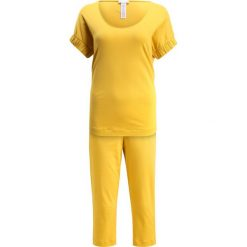 Hanro WILLOW Piżama gold. Żółte piżamy damskie marki Hanro, xs, z bawełny. W wyprzedaży za 350,35 zł.