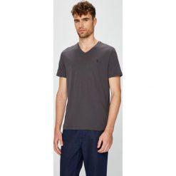 U.S. Polo - T-shirt. Szare koszulki polo marki U.S. Polo, l, z bawełny. W wyprzedaży za 139,90 zł.