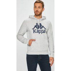 Kappa - Bluza. Szare bluzy męskie rozpinane marki TARMAK, m, z bawełny, z kapturem. Za 119,90 zł.