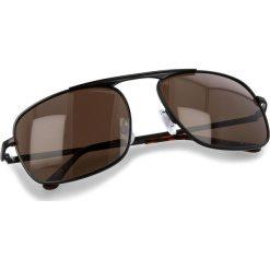Okulary przeciwsłoneczne VANS - Holsted Shades VN0A36VL95S Black Matte. Czarne okulary przeciwsłoneczne damskie lenonki marki Vans. Za 79,00 zł.