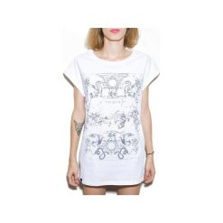 Bluzki, topy, tuniki: PAINT WHITE t-shirt