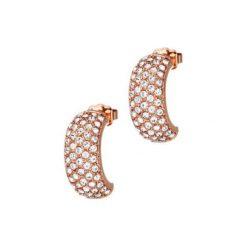 Biżuteria i zegarki: Kolczyki w kolorze różowego złota