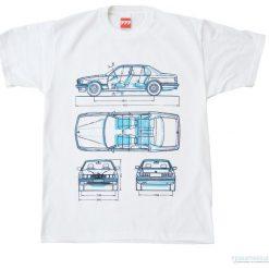 T-shirty męskie z nadrukiem: Koszulka BMW 7 OLD