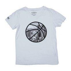 T-shirty chłopięce z nadrukiem: Koszulka w kolorze białym