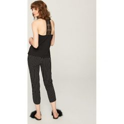 Dwuczęściowa piżama - Czarny. Czarne piżamy męskie Reserved, l. Za 99,99 zł.