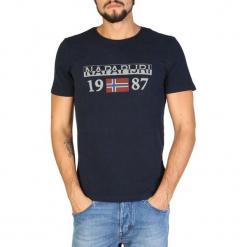 Napapijri T-Shirt Męski Xl Ciemny Niebieski. Szare t-shirty męskie marki Napapijri, l, z materiału, z kapturem. Za 189,00 zł.
