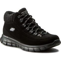 Trekkingi SKECHERS - Winter Nights 12122/BBK Black. Niebieskie buty zimowe damskie marki Skechers. W wyprzedaży za 249,00 zł.