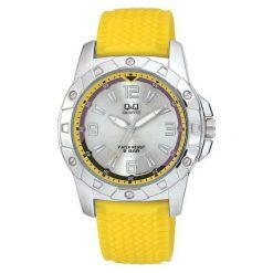 Biżuteria i zegarki męskie: Zegarek Q&Q Męski Q798-314 zółty