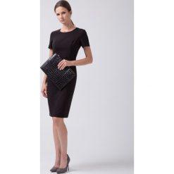 Sukienki balowe: Czarna klasyczna sukienka  BIALCON
