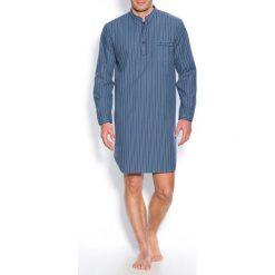 Piżamy męskie: Popelinowa piżama w paski