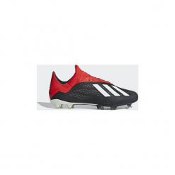 Buty do piłki nożnej adidas  Buty X 18.2 FG. Czarne halówki męskie Adidas, do piłki nożnej. Za 549,00 zł.