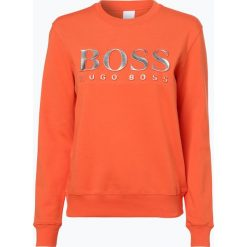 Bluzy rozpinane damskie: BOSS Casual - Damska bluza nierozpinana – Talaboss, pomarańczowy