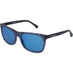 """Okulary przeciwsłoneczne męskie: Okulary przeciwsłoneczne """"EA4056F 5549"""" w kolorze czarnym"""