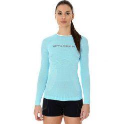Bluzki asymetryczne: Brubeck Koszulka damska 3D Run Pro błękitna r. M (LS13140)