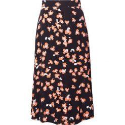 Spódniczki: Bruuns Bazaar SASHA SKIRT Długa spódnica black
