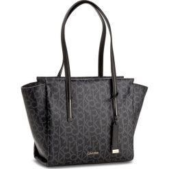 Shopper bag damskie: Torebka CALVIN KLEIN BLACK LABEL – Frame Medium Shopper K60K604171 001