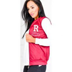 Bluzy rozpinane damskie: Bluza college z literką R