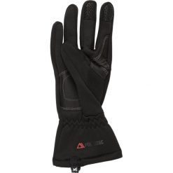 Millet Rękawiczki pięciopalcowe noir. Czarne rękawiczki damskie Millet, z materiału. W wyprzedaży za 126,75 zł.