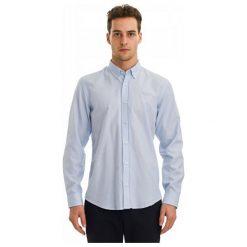 Galvanni Koszula Męska Kortrijk L Jasnoniebieski. Szare koszule męskie GALVANNI, l, z bawełny. W wyprzedaży za 189,00 zł.