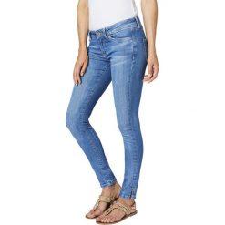 Dżinsy skinny. Szare jeansy damskie marki La Redoute Collections, m, z bawełny, z kapturem. Za 349,86 zł.