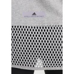 Topy sportowe damskie: adidas by Stella McCartney ESS LOGO Tshirt z nadrukiem mottled light grey