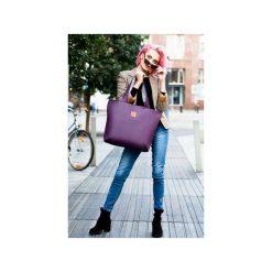 Torba Mili City Bag MCB 2 - fioletowa. Fioletowe torebki klasyczne damskie Militu, w kolorowe wzory, z bawełny, duże. Za 209,00 zł.