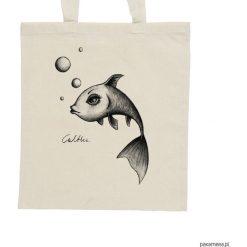 Shopper bag damskie: Ryba – torba – 2 kolory