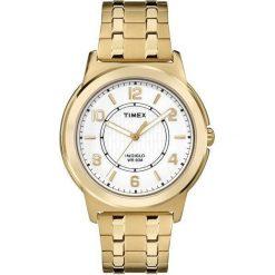 Zegarek Timex Męski TW2P62000 Rozciągana bransoleta złoty. Żółte zegarki męskie Timex, złote. Za 197,99 zł.