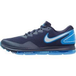 Nike Performance ZOOM ALL OUT LOW 2 Obuwie do biegania treningowe midnight navy/photo blue/pure platinum. Niebieskie buty do biegania męskie Nike Performance, z materiału. W wyprzedaży za 471,20 zł.