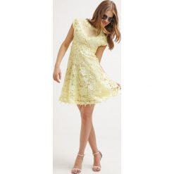 Sukienki hiszpanki: Studio 75 YASMOLIN  Sukienka letnia pale banana