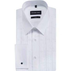 Koszula SIMONE SLIM KDBS000362. Białe koszule męskie na spinki Giacomo Conti, m, z bawełny, z klasycznym kołnierzykiem, z długim rękawem. Za 299,00 zł.
