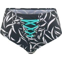 Figi bikini bonprix czarno-biały. Czarne bikini bonprix. Za 54,99 zł.