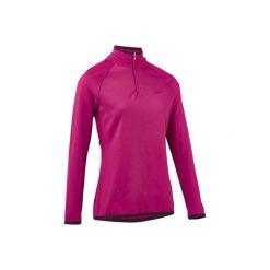 Koszulka narciarska FRESHWARM 1/2 ZIP damska. Czerwone t-shirty damskie marki WED'ZE, m, z elastanu. W wyprzedaży za 49,99 zł.