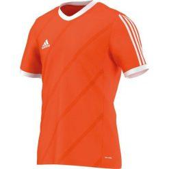 Adidas Koszulka piłkarska męska Tabela 14 pomarańczowo-biała r. L (F50284). Białe t-shirty męskie Adidas, l, do piłki nożnej. Za 65,01 zł.