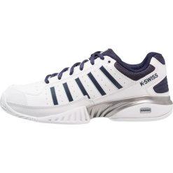KSWISS RECEIVER IV Obuwie multicourt white/navy. Białe buty do tenisa męskie marki K-SWISS. Za 419,00 zł.
