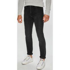 Levi's - Jeansy. Brązowe jeansy męskie skinny marki Levi's®. Za 399,90 zł.
