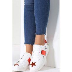 Buty sportowe damskie: Biało-Czerwone Buty Sportowe Teran