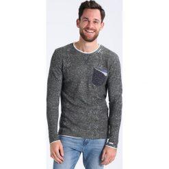 Swetry klasyczne męskie: Key Largo KAI Sweter oliv