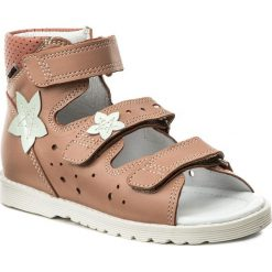 Sandały dziewczęce: Sandały BARTEK – 86805-3/1A0 Pomarańczowy