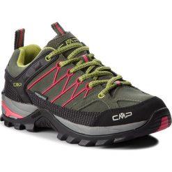 Trekkingi CMP - Rigel Low Trekking Shoes Wp 3Q13246  Kaki/Corallo 65BN. Zielone buty trekkingowe damskie CMP. W wyprzedaży za 259,00 zł.