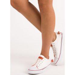 Tenisówki damskie: Białe trampki MERG białe